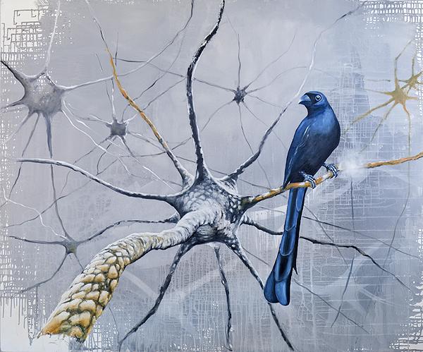 Günter Pusch - Neuronenvogel