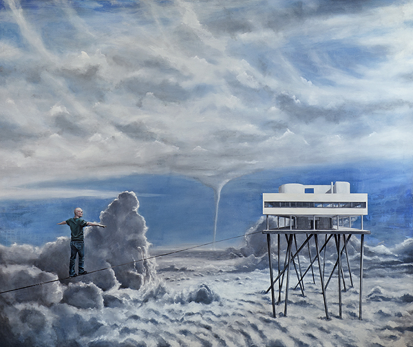 Günter Pusch - über den Wolken